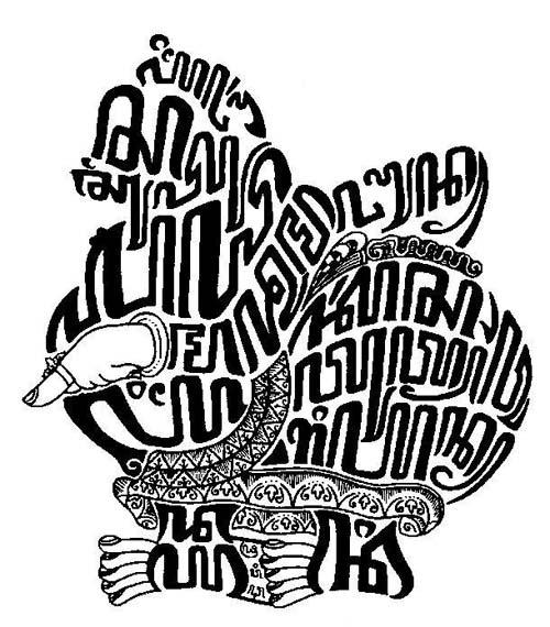 Kaligrafi Aksara Jawa Dan Artinya Gambar Islami